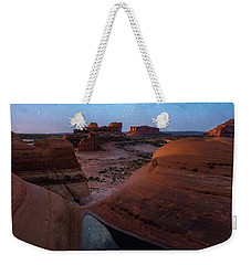 Weekender Tote Bag featuring the photograph Delta Night by Dustin LeFevre