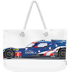 Deltawing Le Mans Racer Illustration Weekender Tote Bag