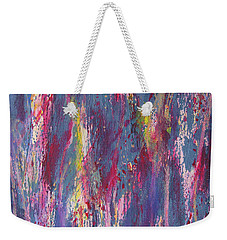 Weekender Tote Bag featuring the painting Delve Deep 2 by Mini Arora