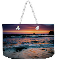 Demartin Beach Sunset Weekender Tote Bag