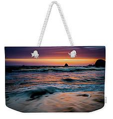 Demartin Beach Sunset Weekender Tote Bag