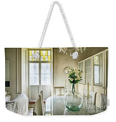 Weekender Tote Bag featuring the photograph Demijohn And Window Color Cadiz Spain by Pablo Avanzini