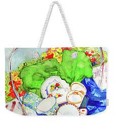 Demitasse Picnic Weekender Tote Bag