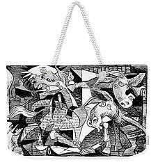 Democrat Guernica Weekender Tote Bag