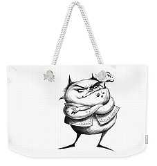 Demon Drawing Weekender Tote Bag