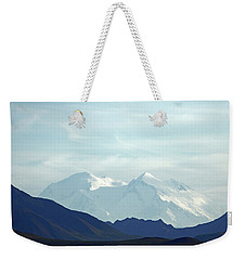 Denali In The Evening Weekender Tote Bag
