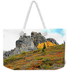 Denali Outcropping Weekender Tote Bag