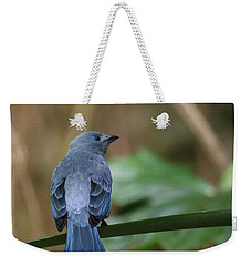 Denim Blue Weekender Tote Bag