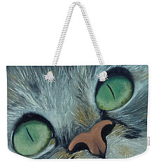 Denise's Cat Jasmine Weekender Tote Bag