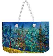Dense Forest Weekender Tote Bag
