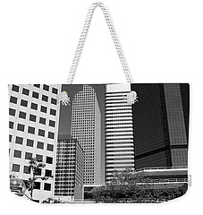 Denver Architecture Bw Weekender Tote Bag by Frank Romeo