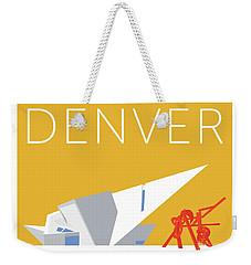 Denver Art Museum/gold Weekender Tote Bag