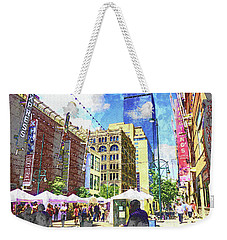 Denver Art Walk Weekender Tote Bag