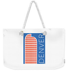 Denver Cash Register Bldg/blue Weekender Tote Bag
