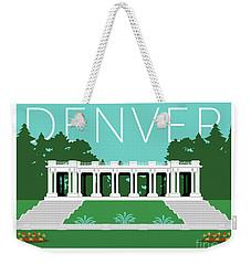 Denver Cheesman Park/lt Blue Weekender Tote Bag