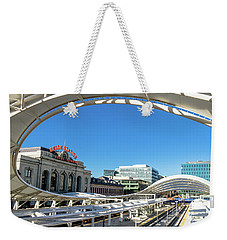 Denver Co Union Station Weekender Tote Bag