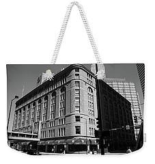 Denver Downtown Bw Weekender Tote Bag by Frank Romeo