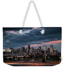 Denver Nights Weekender Tote Bag