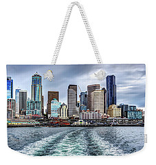 Departing Pier 54 Weekender Tote Bag by Rob Green