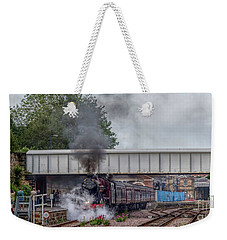 Departing Scarborough Weekender Tote Bag