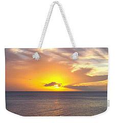 Departing St. Lucia Weekender Tote Bag