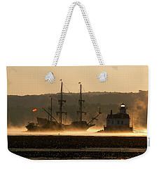 Departure Of El Galeon I Weekender Tote Bag