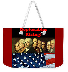 Deplorables Rising Weekender Tote Bag