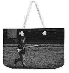 Deploy The Guard Bw Weekender Tote Bag by Jeff at JSJ Photography