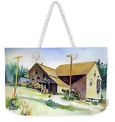 Depot Hill, Dutch Flat,1910 Weekender Tote Bag