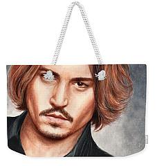 Depp Weekender Tote Bag by Bruce Lennon