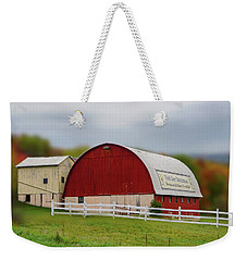 Weekender Tote Bag featuring the photograph Der Dutchman  by Mary Timman