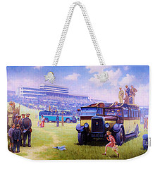 Derby Day Epsom 1929. Weekender Tote Bag