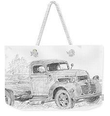 Derelict Dodge Weekender Tote Bag