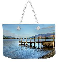 Derwent Water Pier Weekender Tote Bag