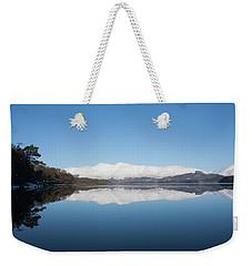 Derwentwater Winter Reflection Weekender Tote Bag