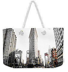 Desaturated New York Weekender Tote Bag by Nicklas Gustafsson