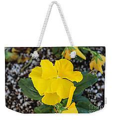 Floral Desert Beauty Weekender Tote Bag