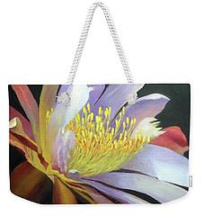 Desert Cactus Flower Weekender Tote Bag
