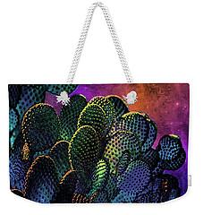 Desert Cactus Starlight Weekender Tote Bag