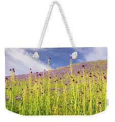 Desert Candles At Carrizo Plain Weekender Tote Bag