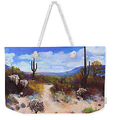 Desert Colors Weekender Tote Bag by M Diane Bonaparte