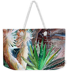 Desert Conservatory Weekender Tote Bag by Mindy Newman