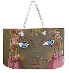 Desert Diva -- Whimsical Arabic Woman Weekender Tote Bag