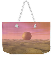 Desert Dream Of Geometric Proportions Weekender Tote Bag