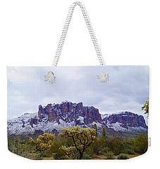 Desert Dusting Weekender Tote Bag