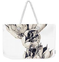 Desert Flower Weekender Tote Bag by Racheal Christian