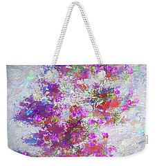 Desert Flowers Abstract 3 Weekender Tote Bag