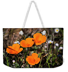 Desert Flowers Four Flowers Four Weekender Tote Bag