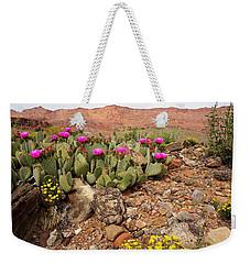 Desert Cactus In Bloom Weekender Tote Bag