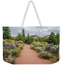 Weekender Tote Bag featuring the photograph Desert Fresh by Margaret Pitcher